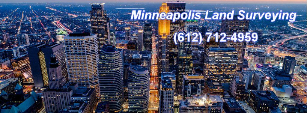 Minneapolis Land Surveying - Skyline Header