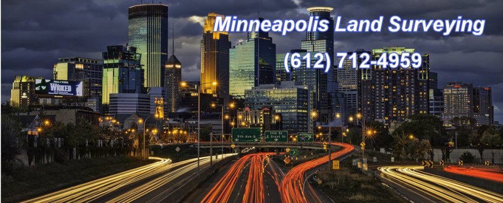 Minneapolis Land Surveying - Skyline Header